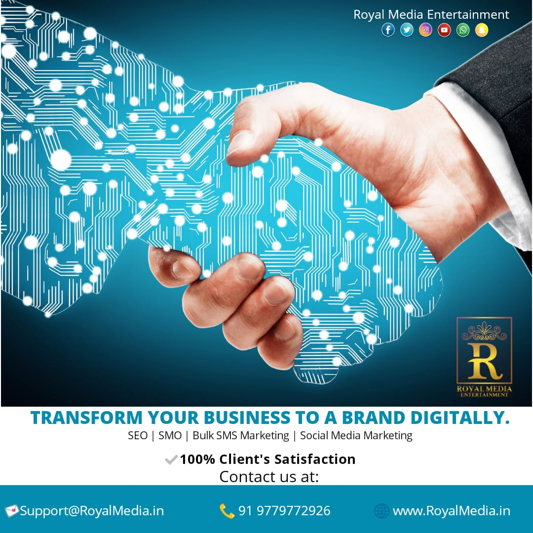 """LEARN TO BRAND YOUR BUSINESS WITH THE HELP OF """"ROYAL MEDIA ENTERTAINMENT"""""""