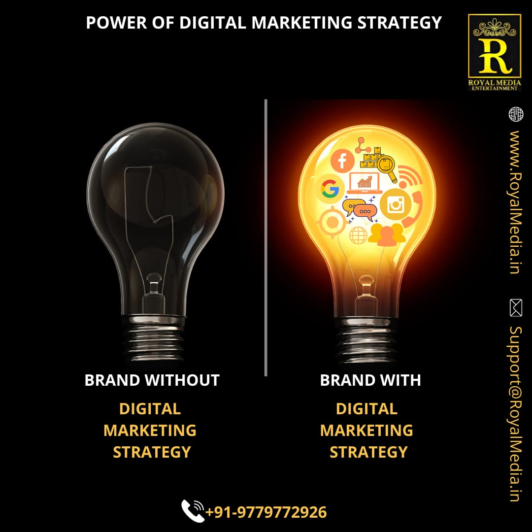 Brand with Digital Marketing Strategy