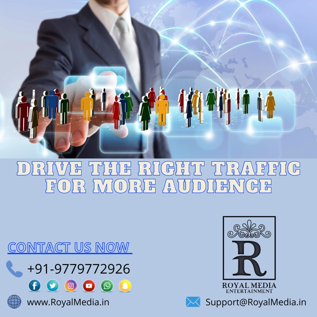 Get more Audience On Your Website