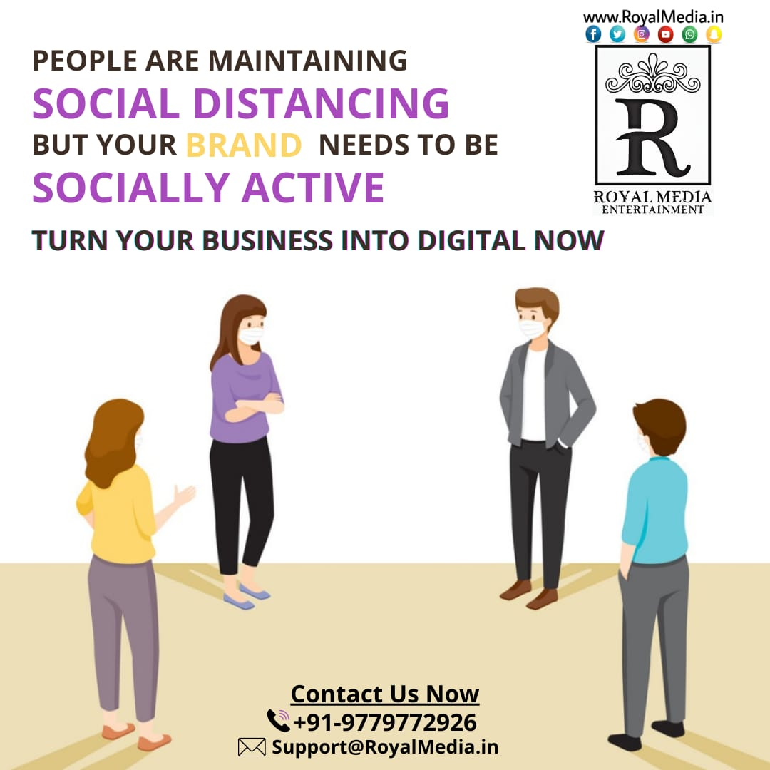 Go Digital with  the help of Royal Media Entertainment