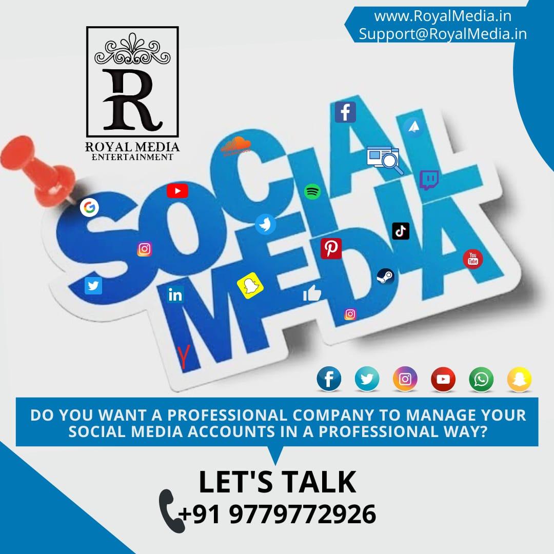 GROW YOUR ALL SOCIAL MEDIA  ACCOUNTS...