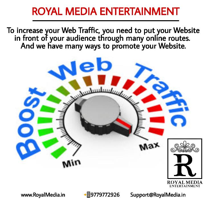 We have many ways to promote your website.