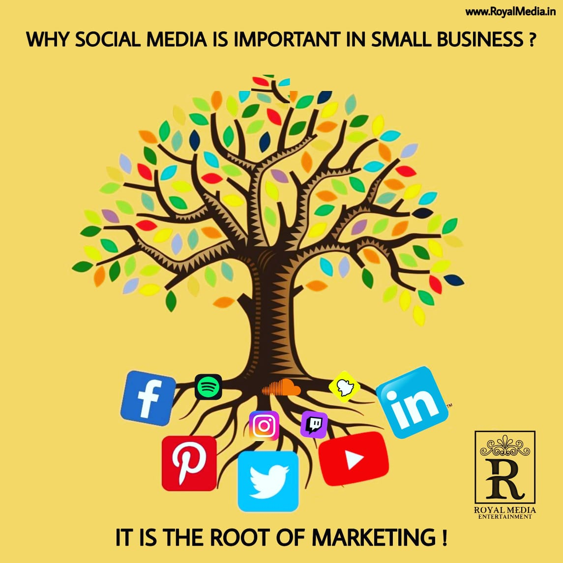 👉Brighten up your business on social media.