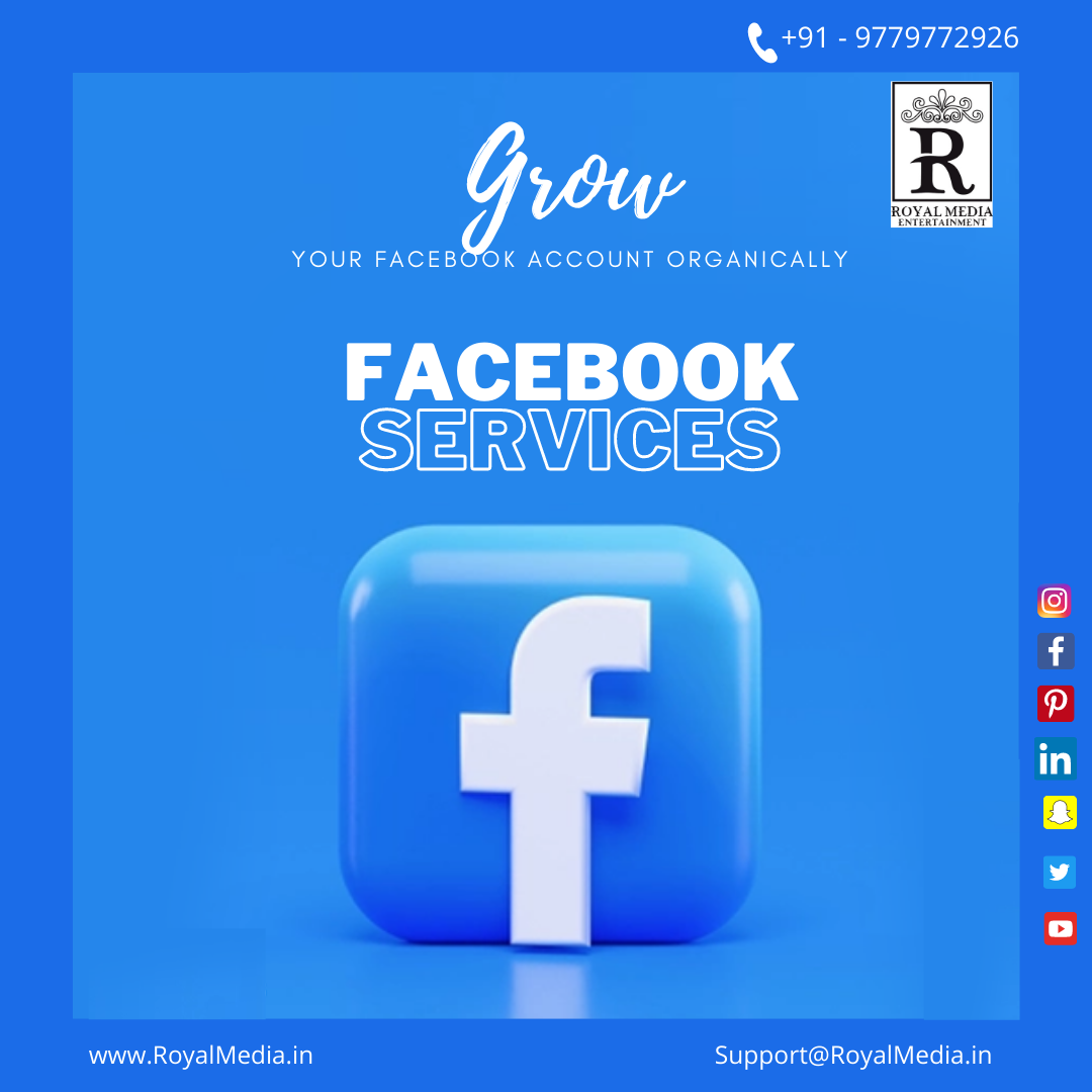 BEST SERVICES FOR YOUR FACEBOOK ACCOUNT