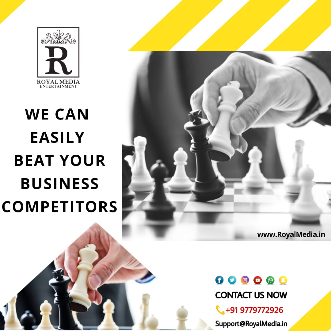 👉 Royal Media Entertainment Can easily beat your competitors.