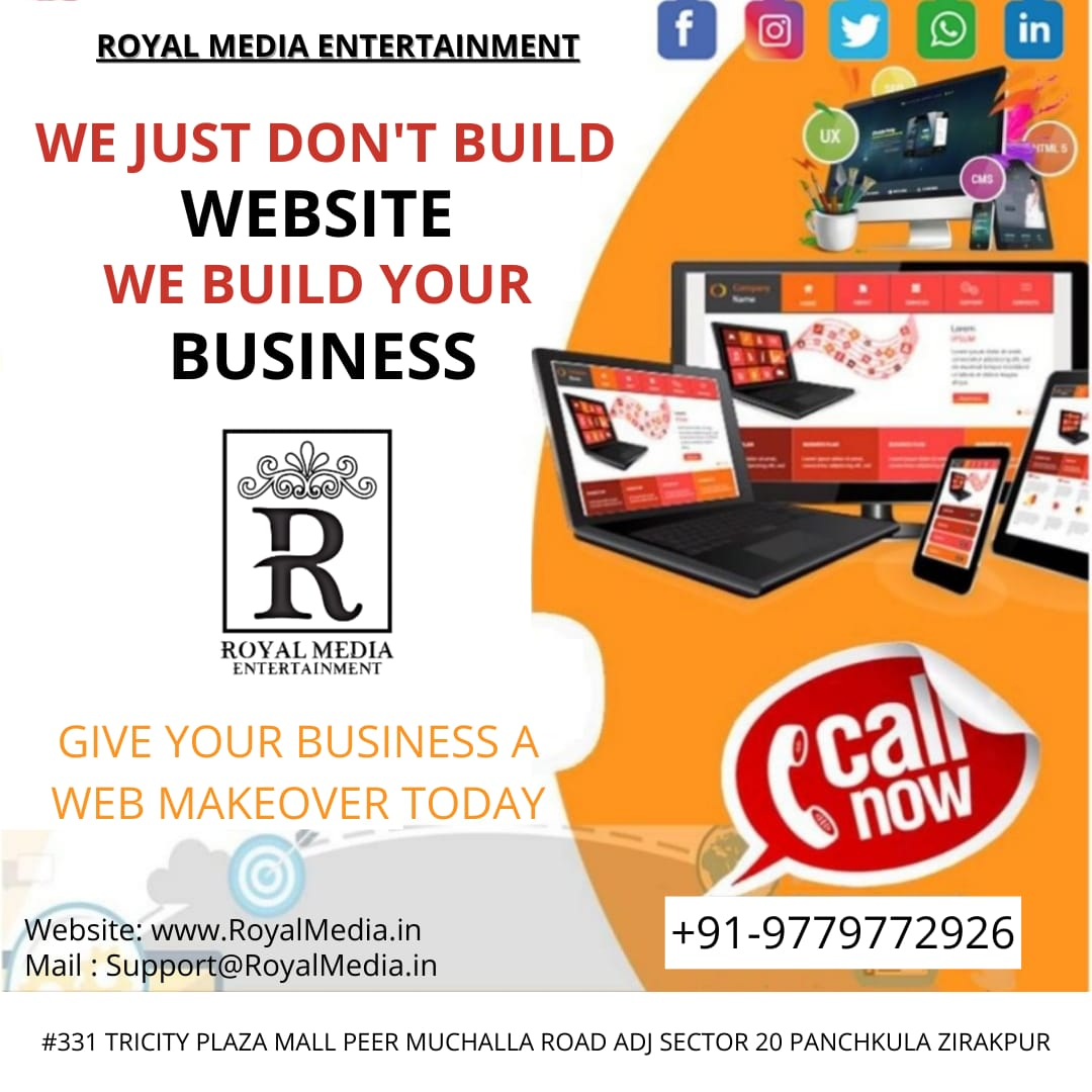 Increase the sales with your stunning Website