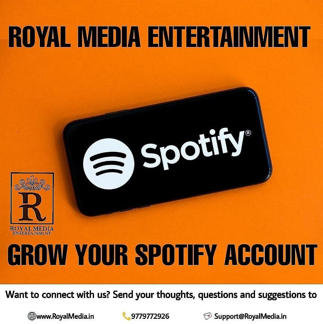 Grow Your Spotify Accounts