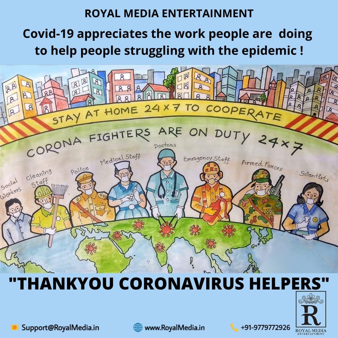 """""""THANKYOU CORONAVIRUS HELPERS"""""""