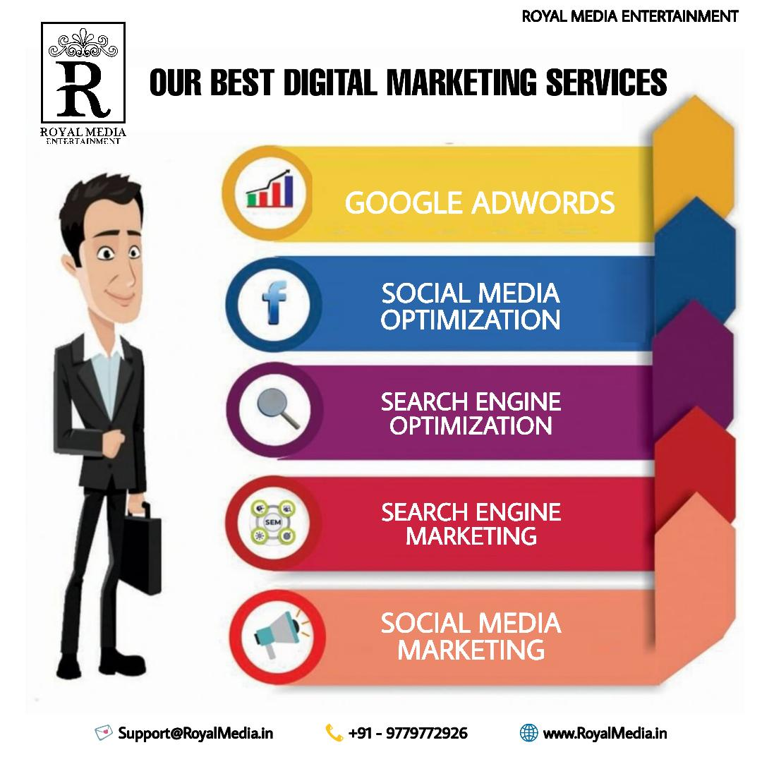 We help you manage all your Social Media
