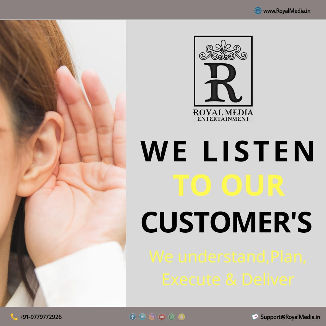 We Listen To Our Customer