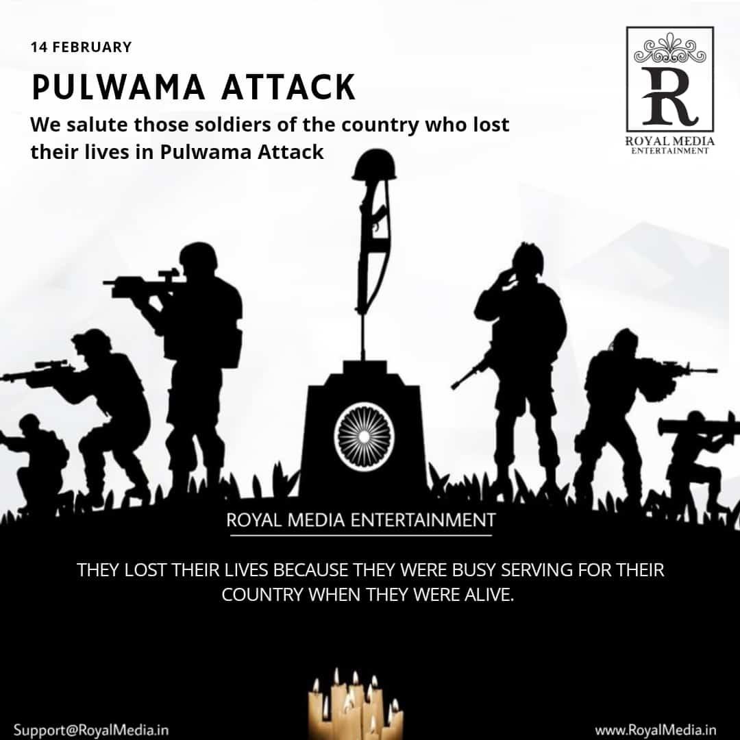 PULWAMA ATTACK 14 FEBRUARY (RIP)