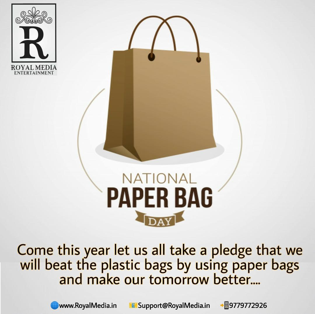 """Say No to Paper Bag Accept Non-woven and Take a Pledge for Zero Waste"""
