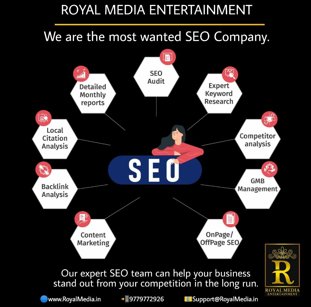 Our expert SEO team can help your business stand out from your competition in the long run.