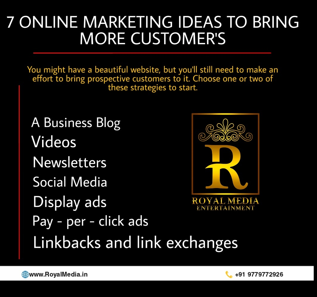 7 Online Marketing Ideas