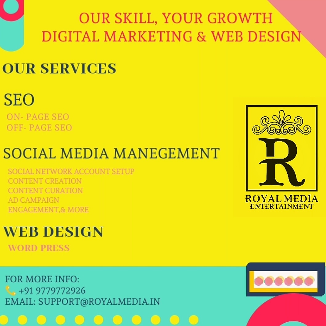social media marketing $ web design