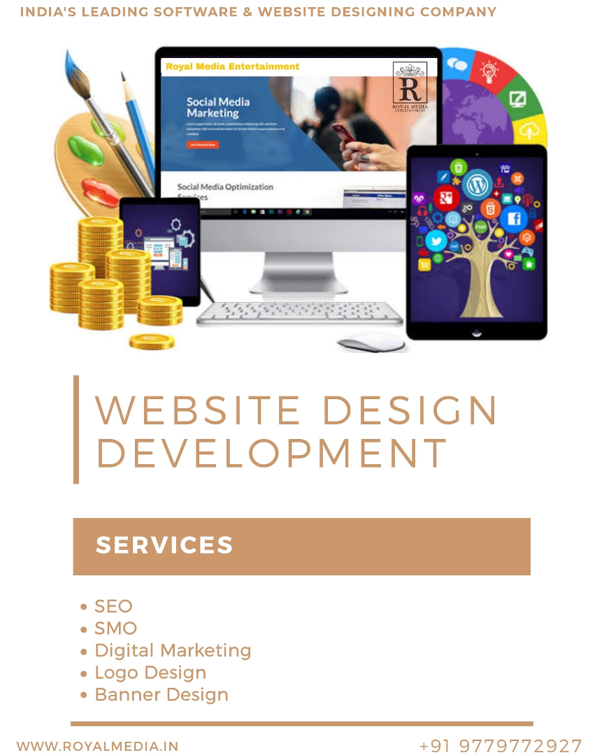 SEO Friendly unique static website design services
