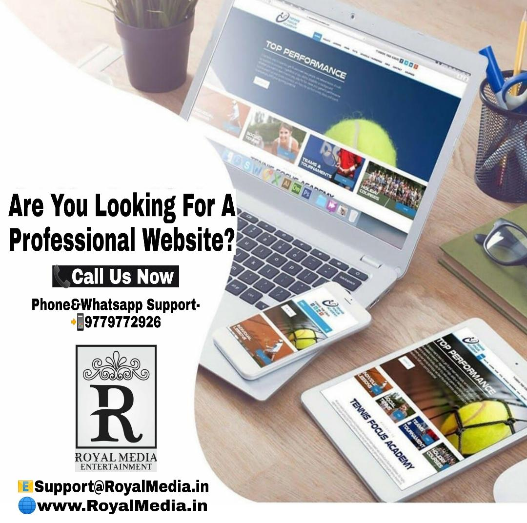 Royal Media Entertainment a Proffessional Website
