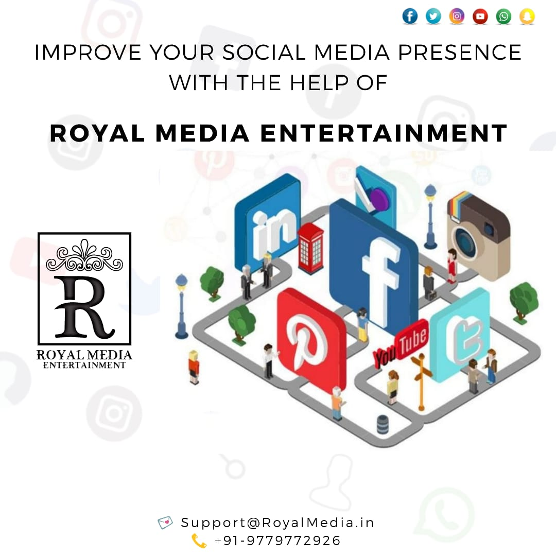Improve your Social Media Presence With Royal Media Entertainment.