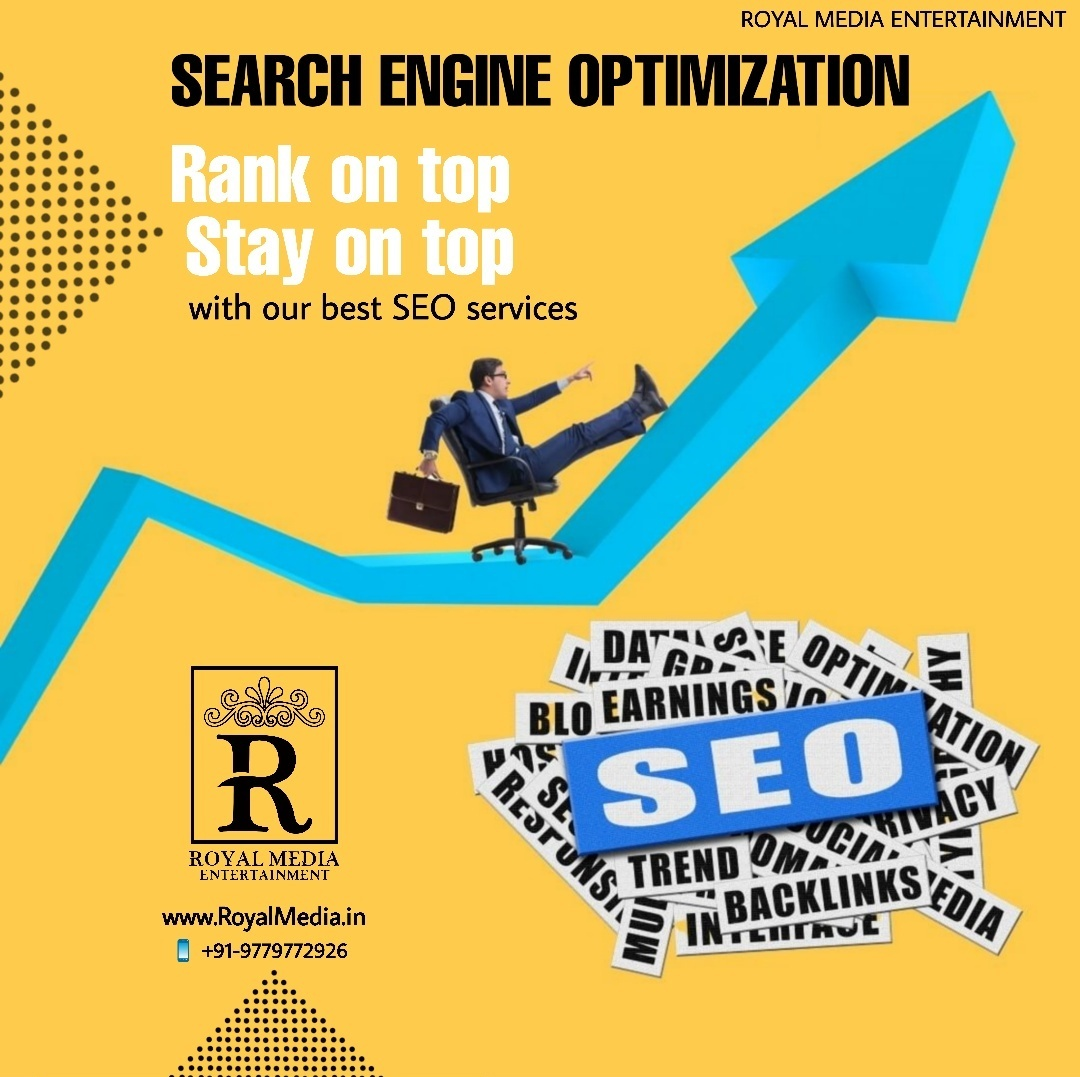 """SEO"" the process of improving your site to increase its visibility for relevant searches."
