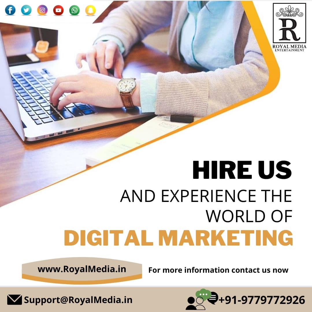 Experience the world of Digital Marketing