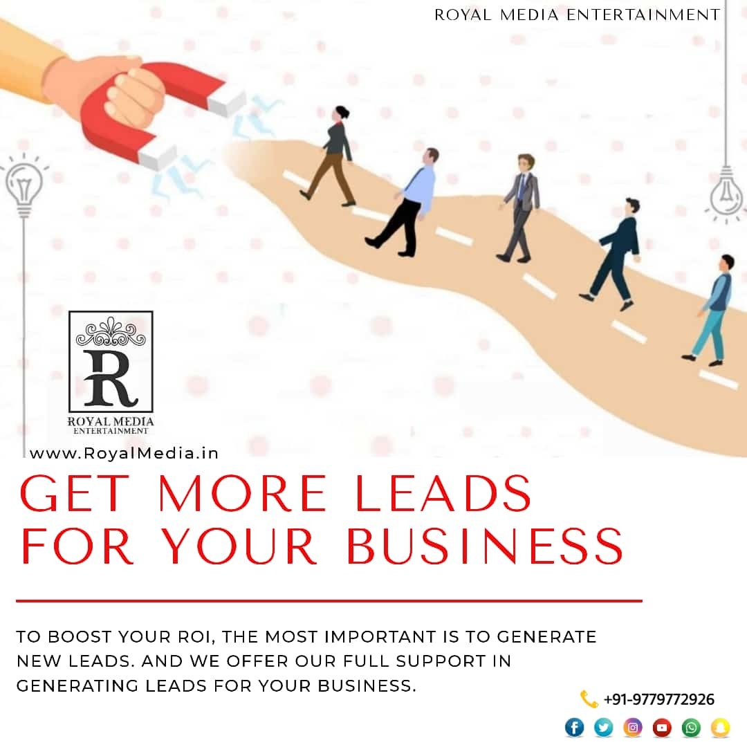 👉We can easily generate more leads for your business.