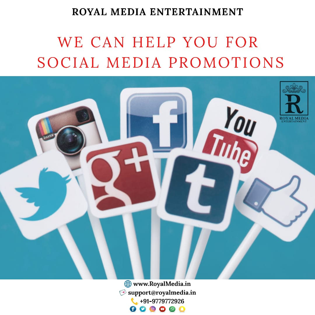 We Can Help You For Social Media Promotions
