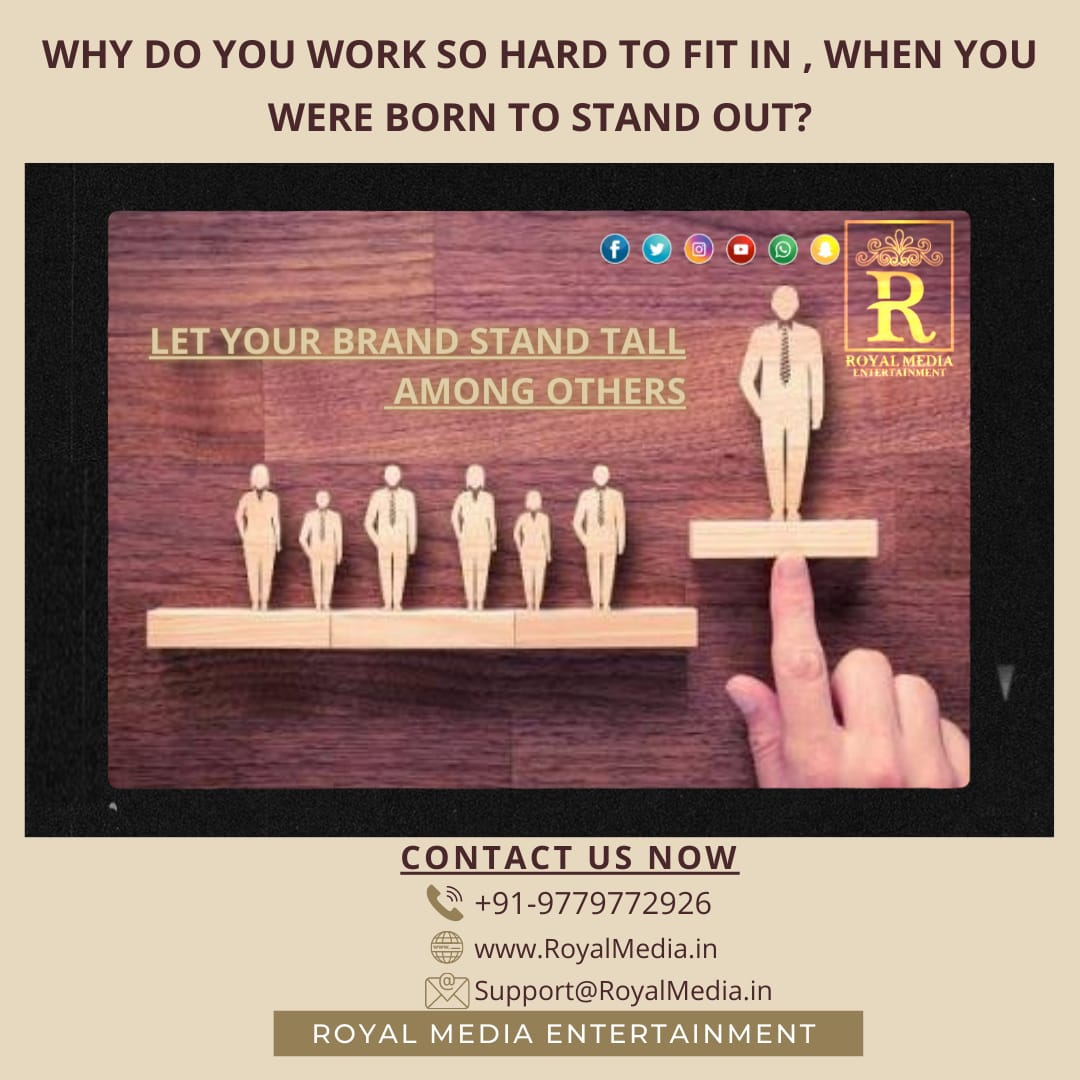 We makes you stand out as a professional. .