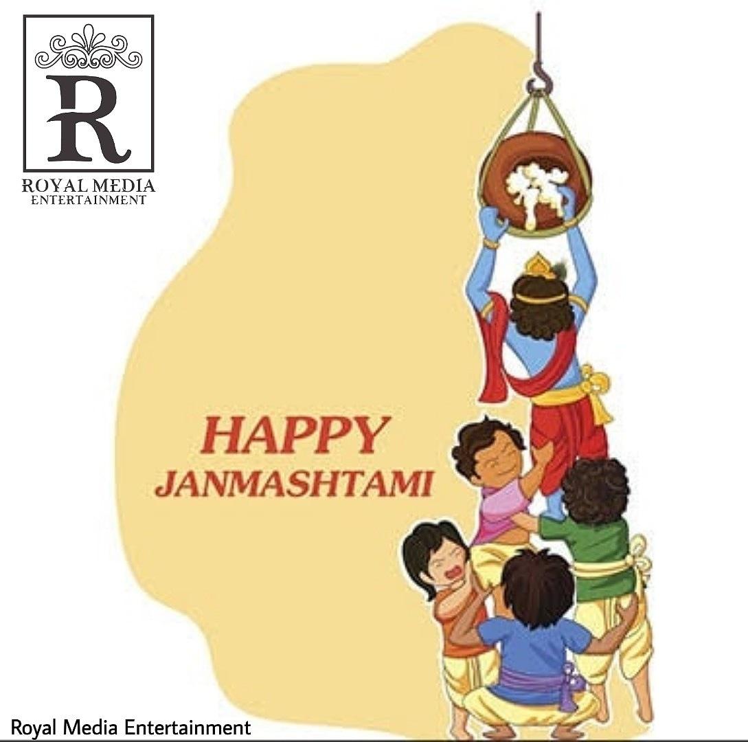 """Happy janmashtmi"""