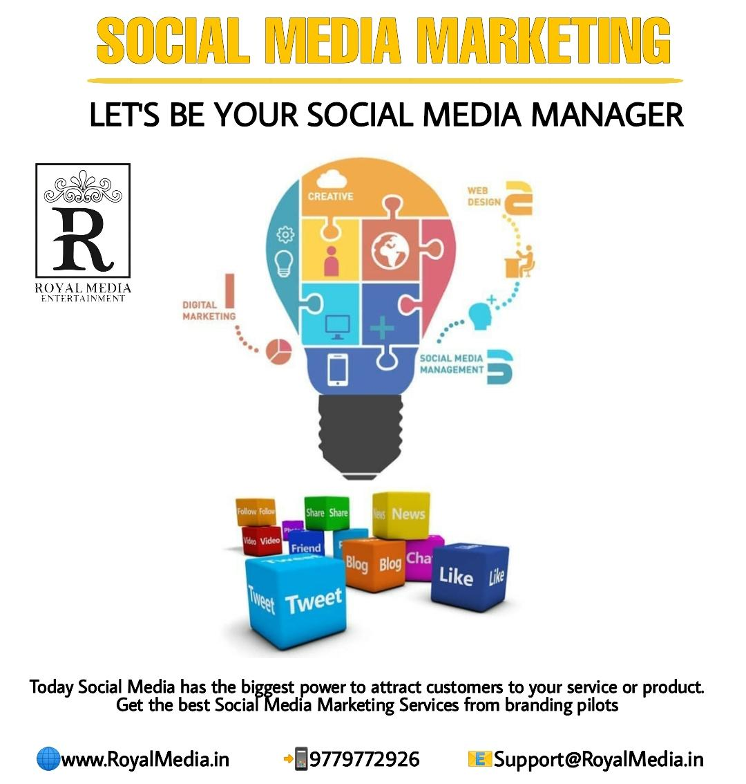 Get the best social media marketing services from branding pilots.