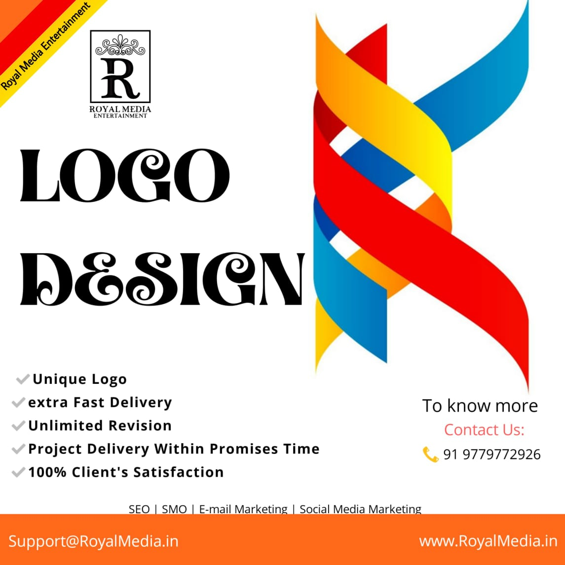 Get unique stunning Logo Designs