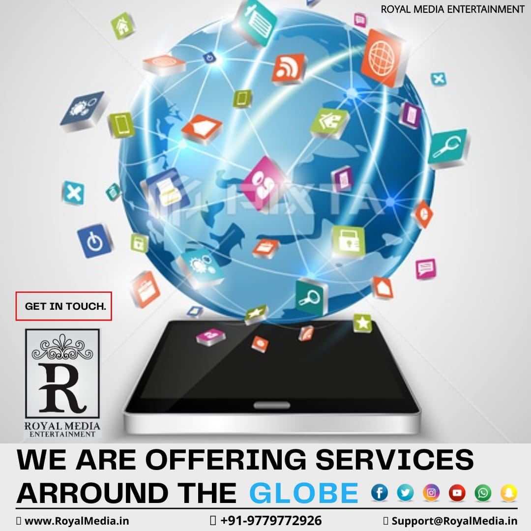 We give you the opportunity to promote your Social Media Accounts.