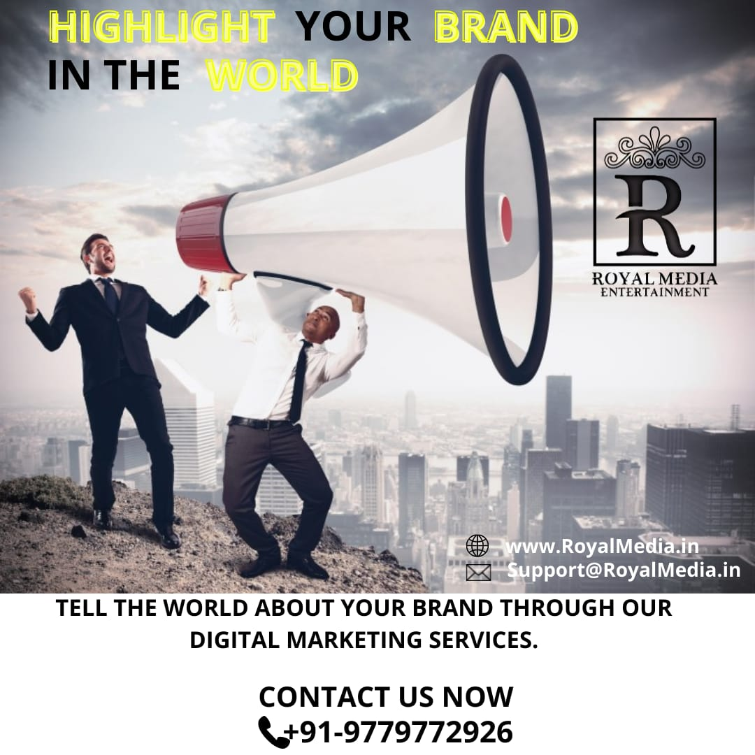GIVE YOUR BRAND A NEW AND HIGHEST LEVEL.