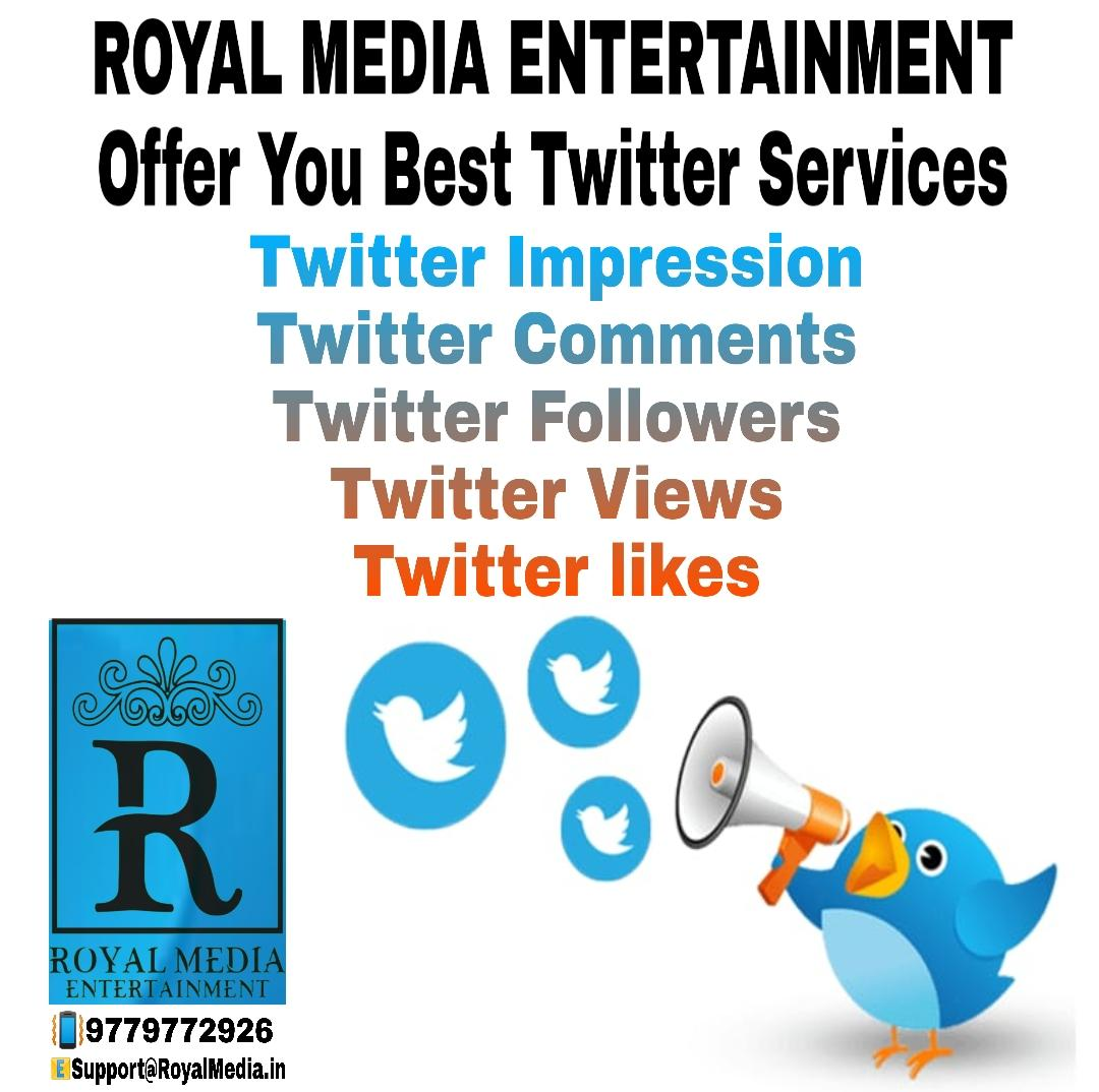 Get best srvices for your twitter account
