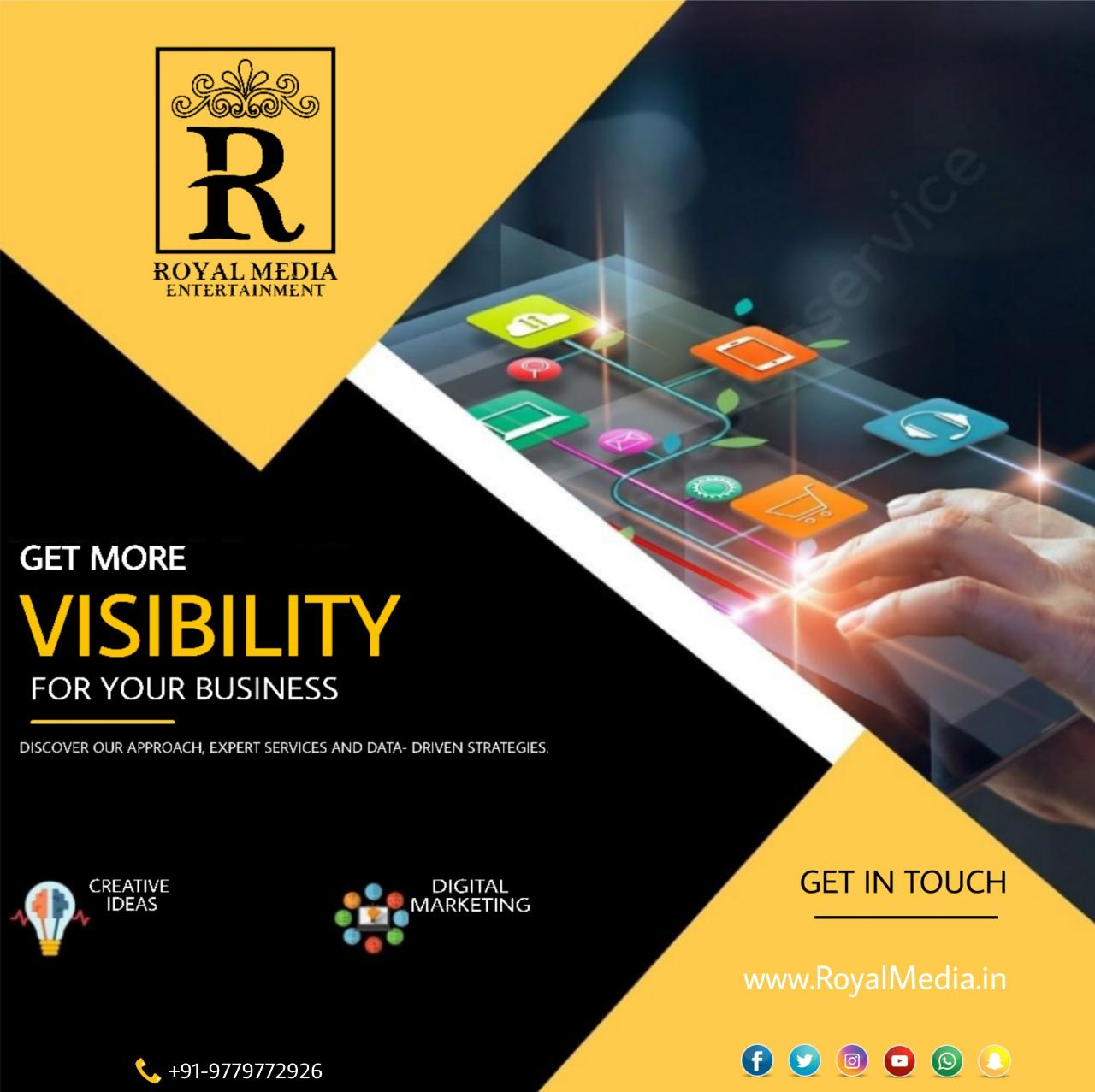 Gain more visibility in your business.
