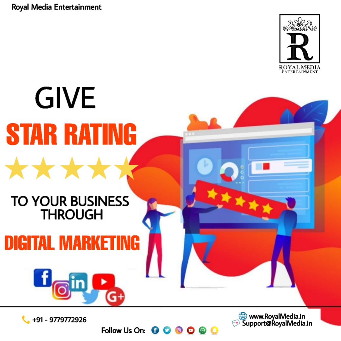 Give Star Rating To Your Business