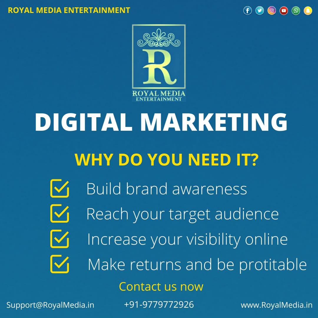 Why do you need Digital Marketing