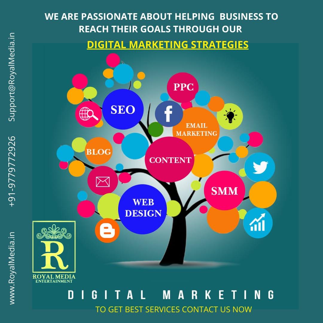 Get your goals through our Digital marketing strategies
