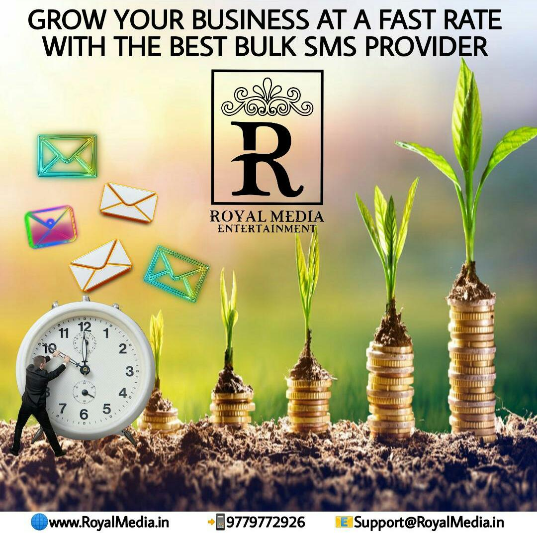 Grow your business at a fast rate with the best bulk sms provider!