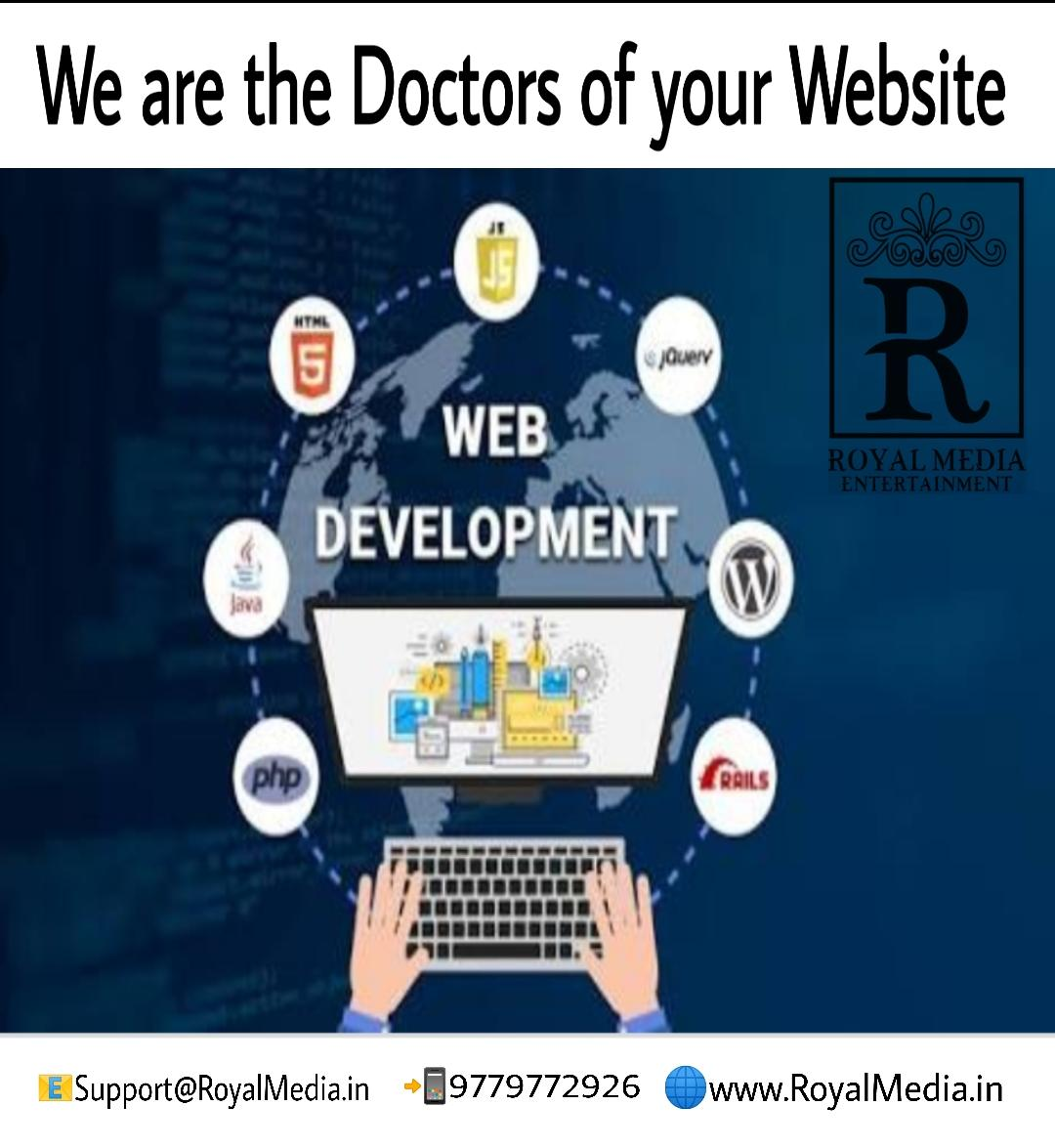 Build your website with us