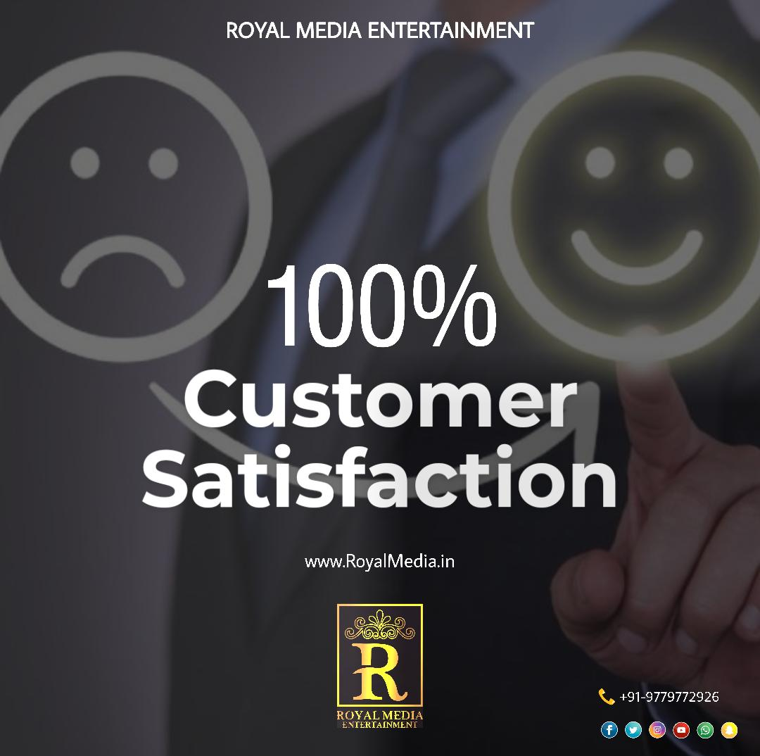 Our customers' satisfaction is very important to us.