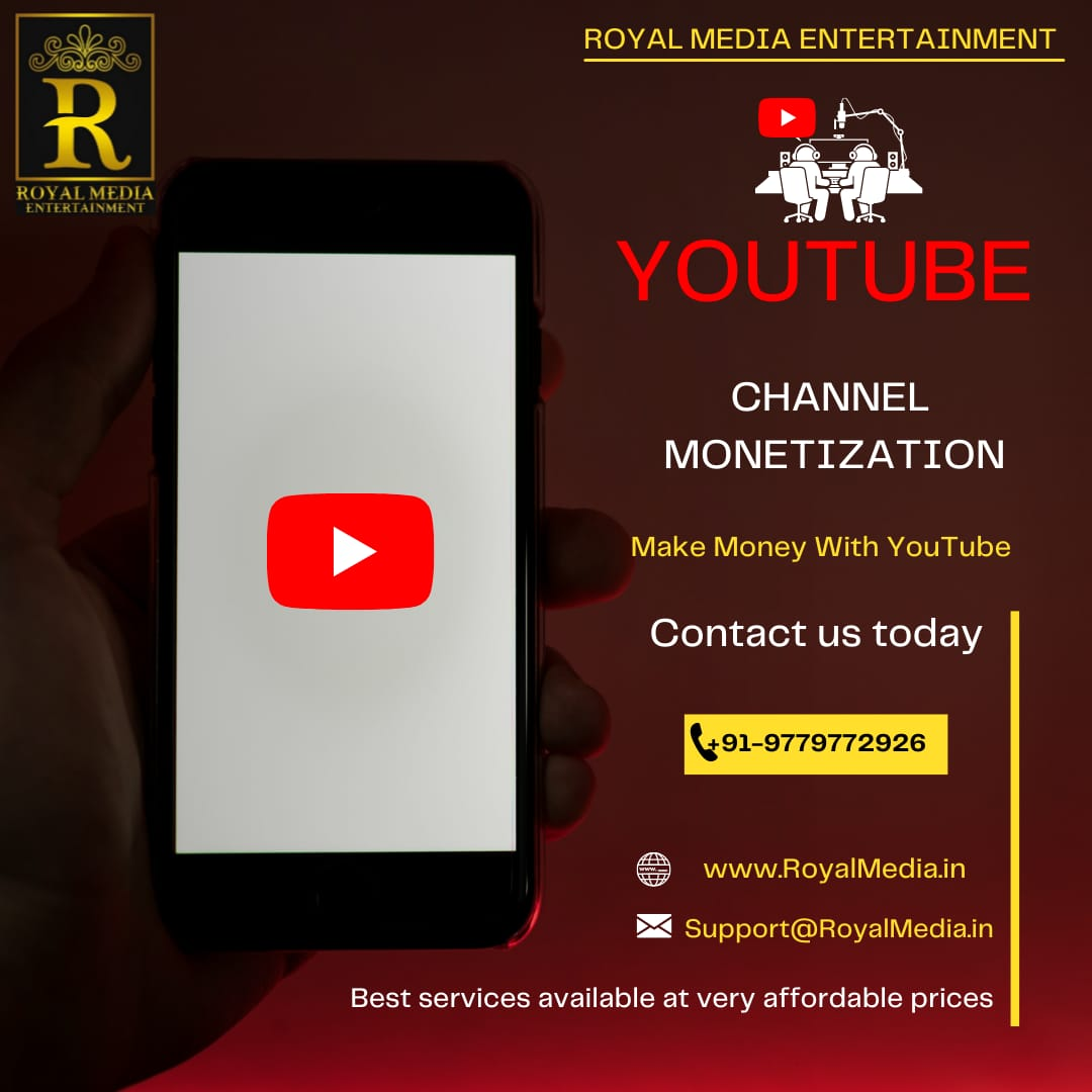 Channel Monetization Services at very affordable prices