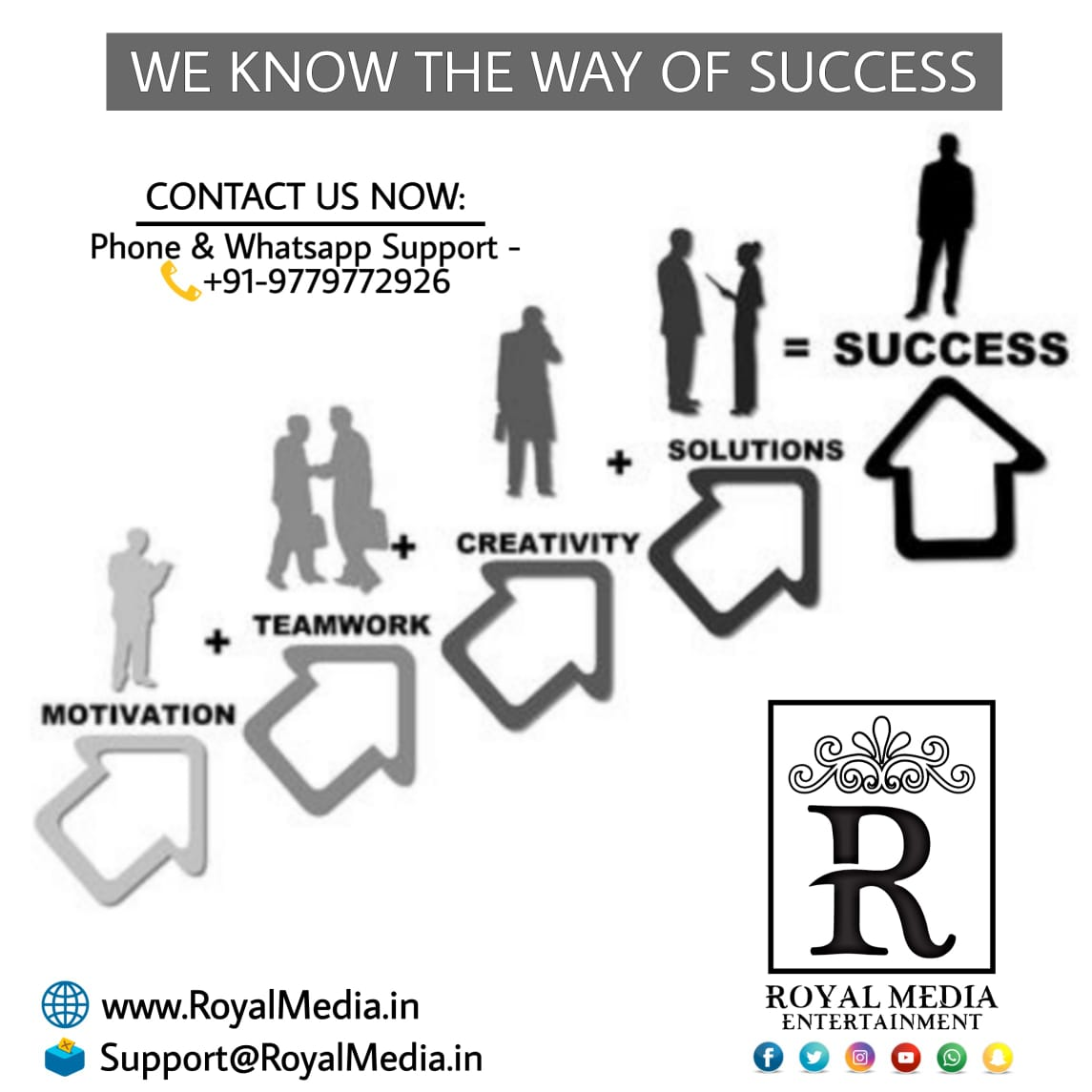 Our experts know the ways of your success.