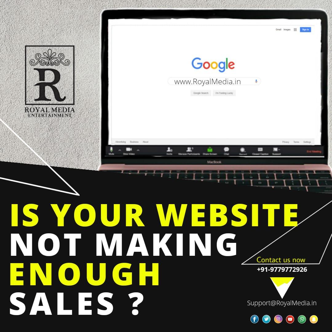 Create or Update attractive Website