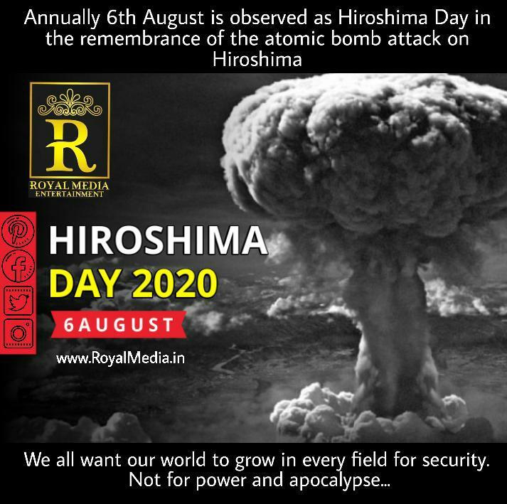 Hiroshima Day 6 August 2020