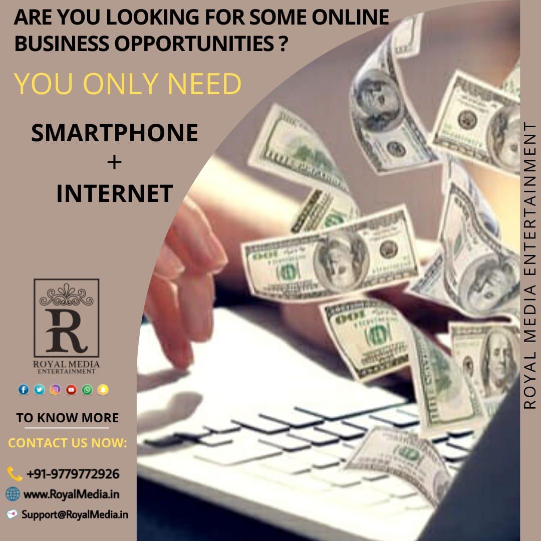 Get online business opportunities