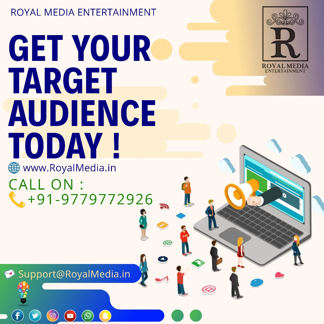 We can easily find your target audience