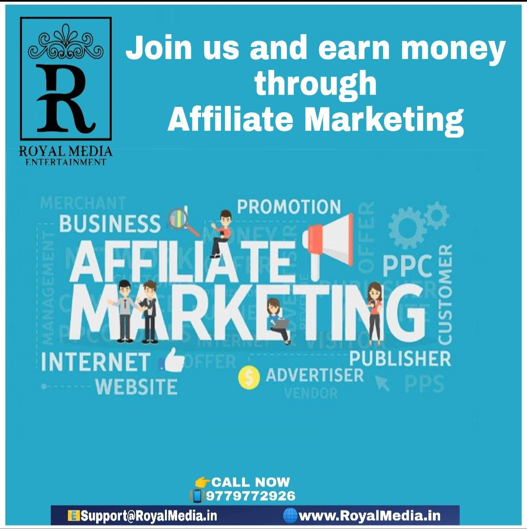 Earn money through of Affiliate marketing
