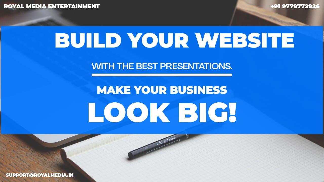 Make Your Website Look Big