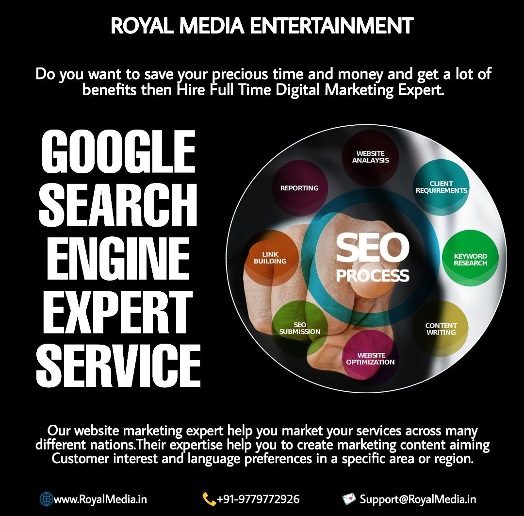 GOOGLE SEARCH ENGINE EXPERT SERVICE