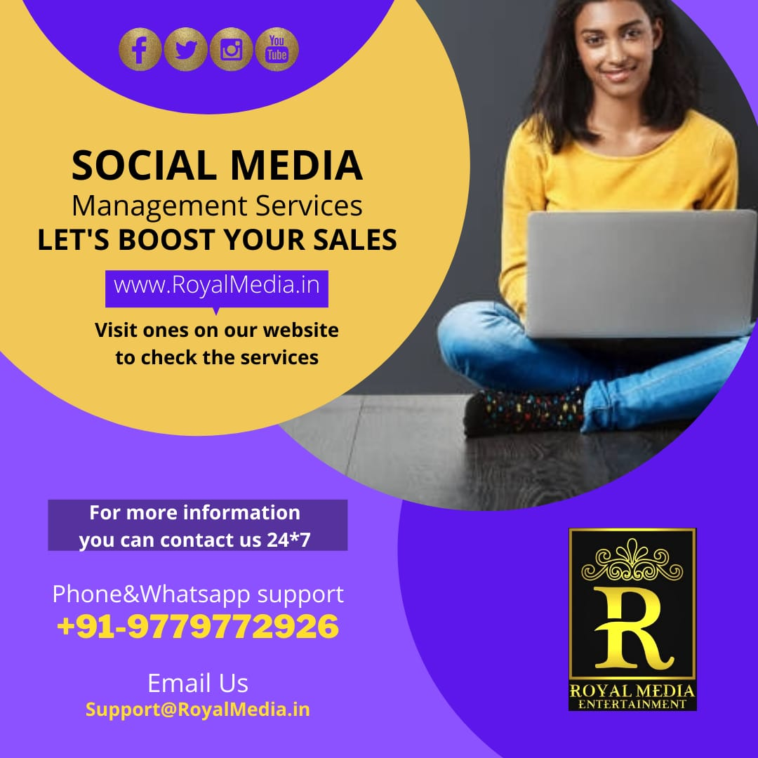 Promote your all social media accounts